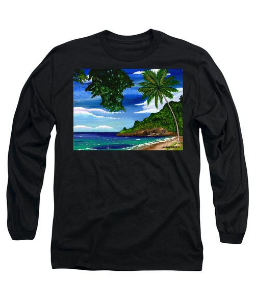 The Coconut Tree Long Sleeve T-Shirt by Laura Forde