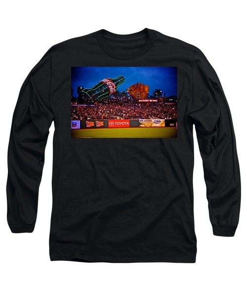 The Coke And Glove Long Sleeve T-Shirt by Eric Tressler