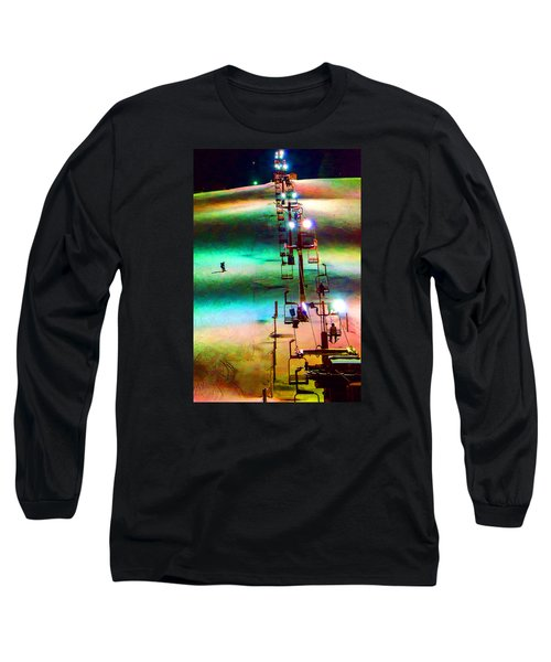 The Color  Of Fun  Long Sleeve T-Shirt by Susan  McMenamin