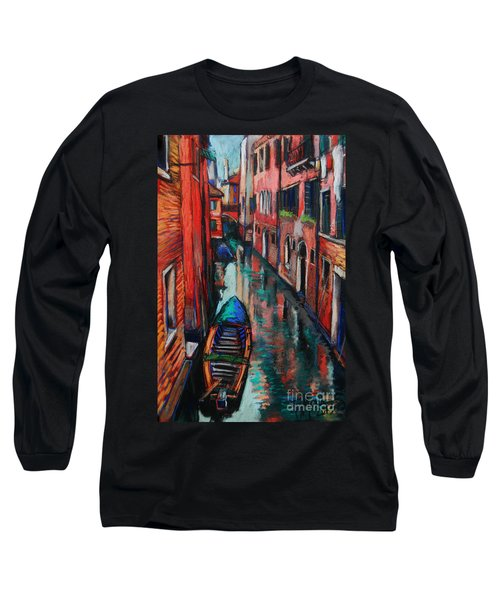 The Colors Of Venice Long Sleeve T-Shirt
