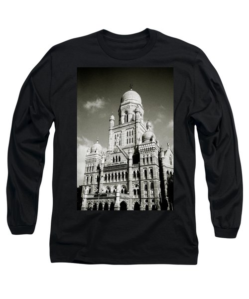 The Corporation Building Bombay Long Sleeve T-Shirt