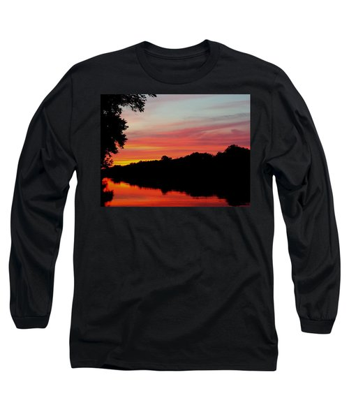The Cumberland At Sunset Long Sleeve T-Shirt