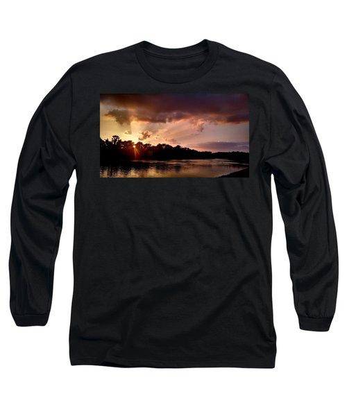 The Cumberland River Long Sleeve T-Shirt by Chris Tarpening