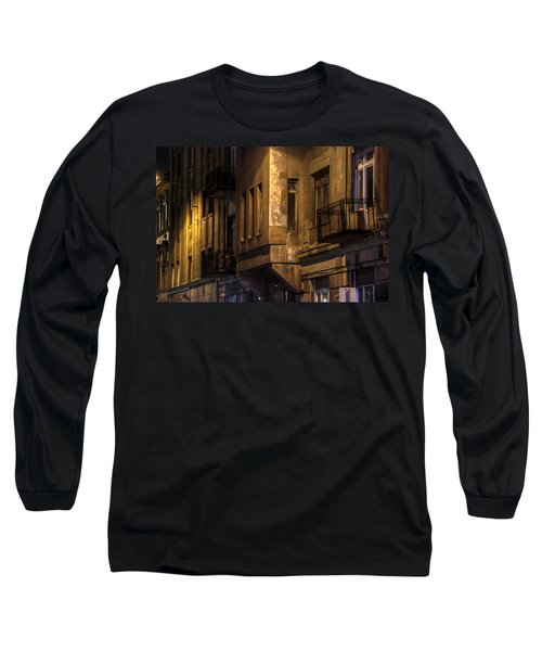 The Dark Side Long Sleeve T-Shirt by Nathan Wright