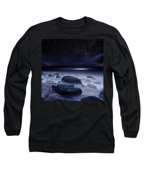 The Depths Of Forever Long Sleeve T-Shirt by Jorge Maia