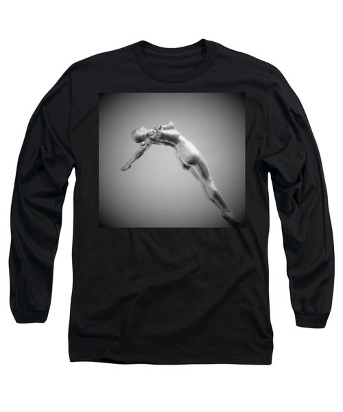 The Free Dive Long Sleeve T-Shirt by Gary Smith
