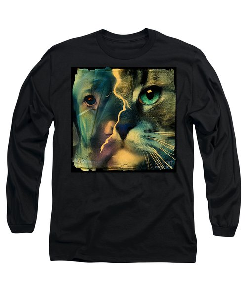 The Dog Connection -green Long Sleeve T-Shirt