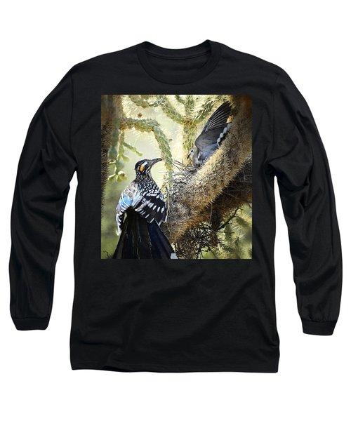 The Dove Vs. The Roadrunner Long Sleeve T-Shirt