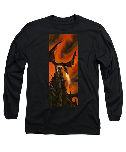 The Dragon's Tower Long Sleeve T-Shirt