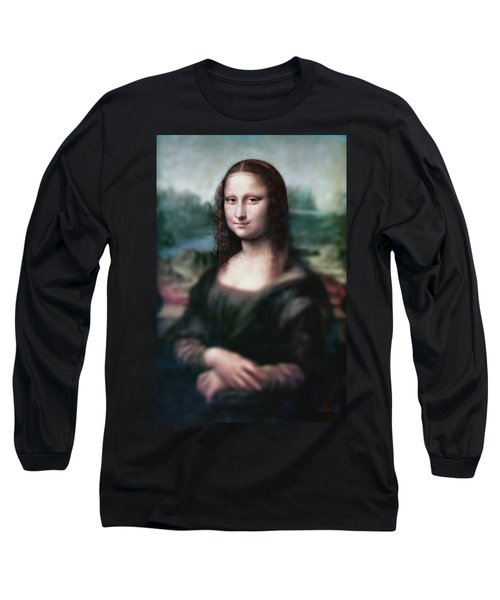 The Dream Of The Mona Lisa Long Sleeve T-Shirt