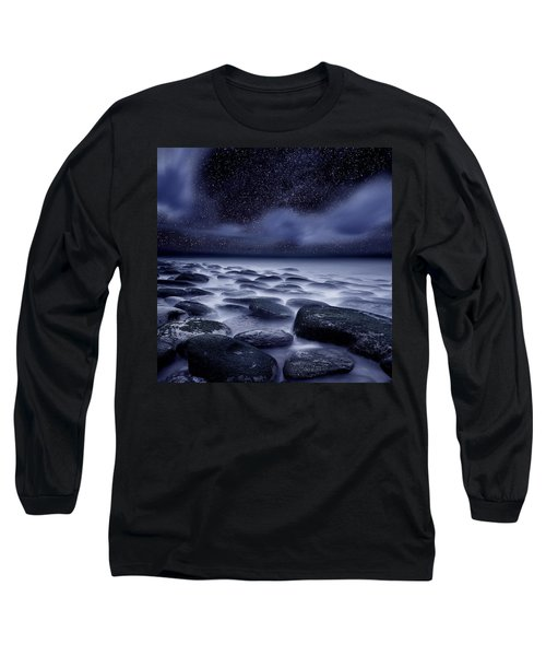 The Edge Of Forever Long Sleeve T-Shirt by Jorge Maia