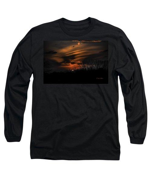The Edge Of Night Long Sleeve T-Shirt