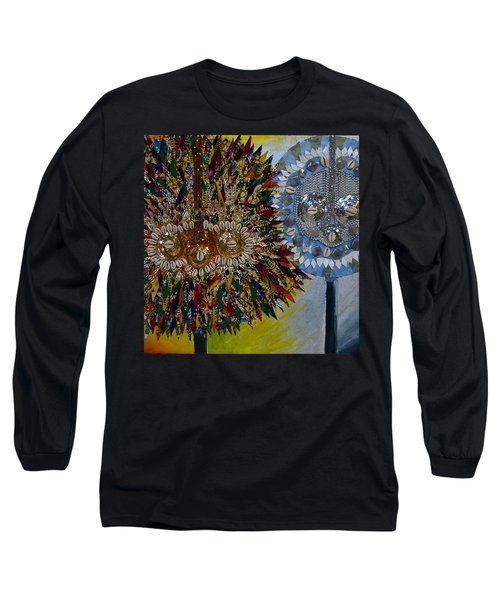 The Egungun Long Sleeve T-Shirt by Apanaki Temitayo M