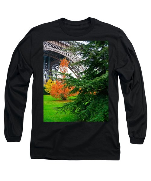 The Eiffel In Fall Long Sleeve T-Shirt