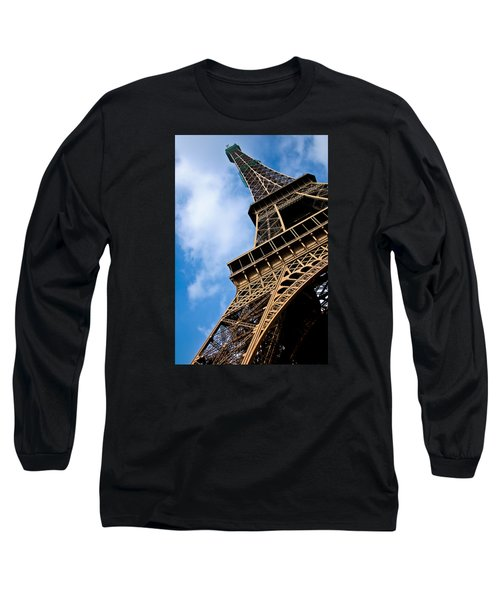 The Eiffel Tower From Below Long Sleeve T-Shirt