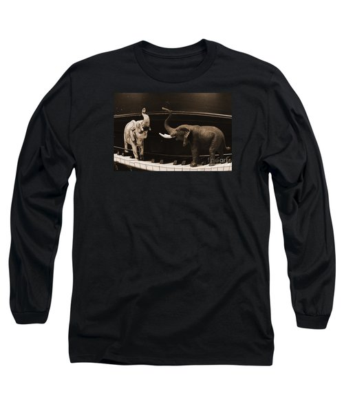 The Elephant Walk Long Sleeve T-Shirt