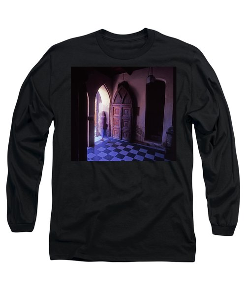 The Entrance And Door Of The Anglican Long Sleeve T-Shirt