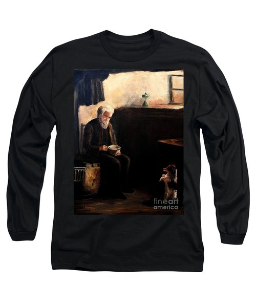 The Evening Meal Long Sleeve T-Shirt by Hazel Holland
