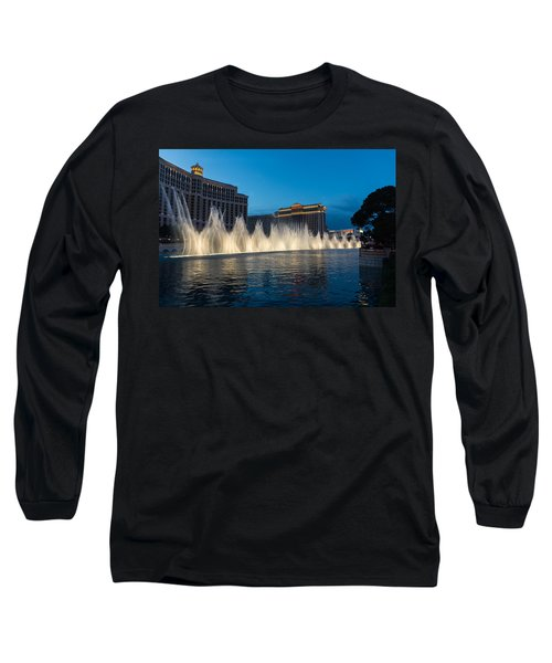 The Fabulous Fountains At Bellagio - Las Vegas Long Sleeve T-Shirt