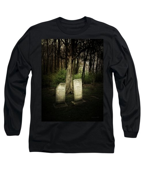 The Final Resting Place Of Ambros And Brazilla Ivins Long Sleeve T-Shirt by Cynthia Lassiter