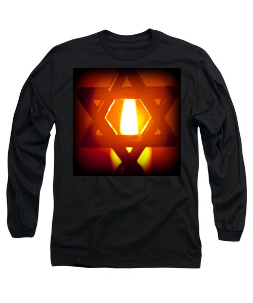 The Fire Within Long Sleeve T-Shirt by Tikvah's Hope