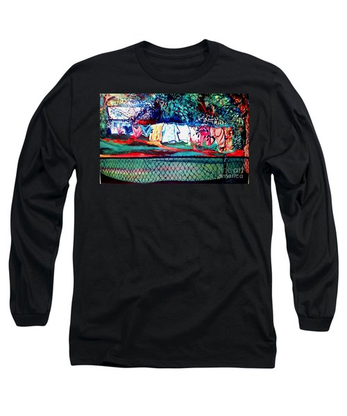 The First Clothing Line  Long Sleeve T-Shirt