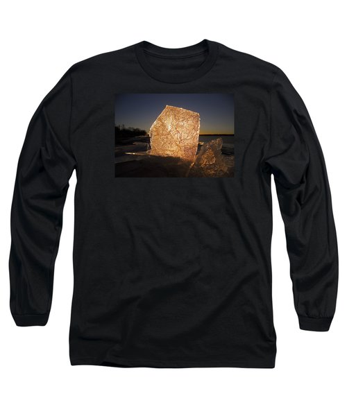 Long Sleeve T-Shirt featuring the photograph The First Ice ... by Juergen Weiss