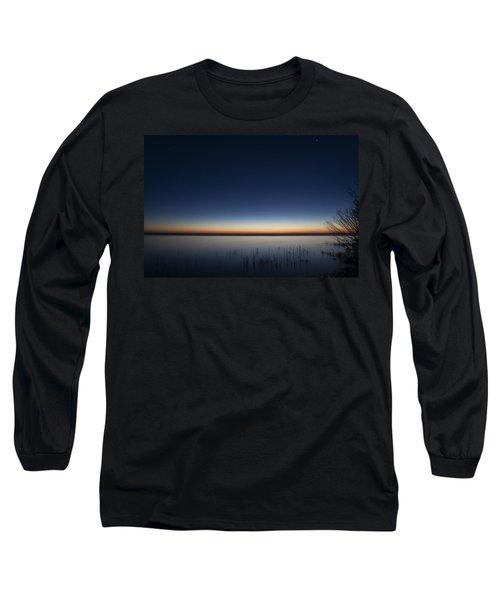 The First Light Of Dawn Long Sleeve T-Shirt
