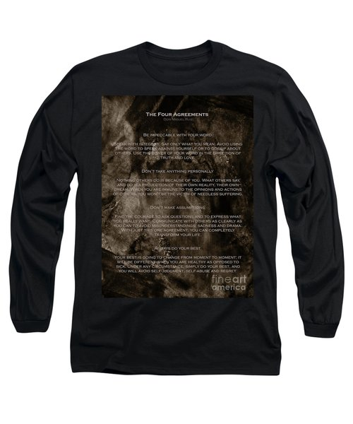 The Four Agreements Long Sleeve T-Shirt