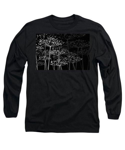 The Garden Of Your Mind Bw Long Sleeve T-Shirt