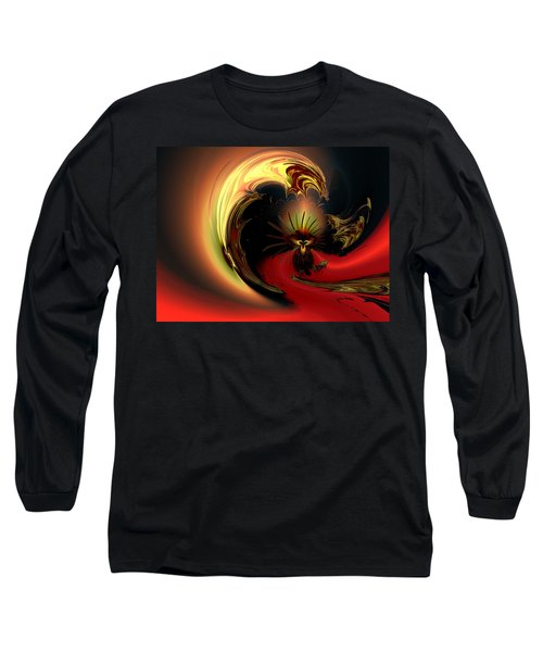 The Glory Of His Eminance Long Sleeve T-Shirt by Claude McCoy