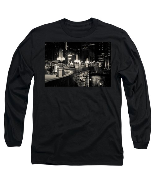 The Glow Over The River Long Sleeve T-Shirt by Melinda Ledsome