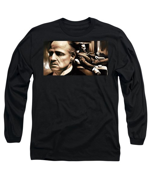 The Godfather Artwork Long Sleeve T-Shirt