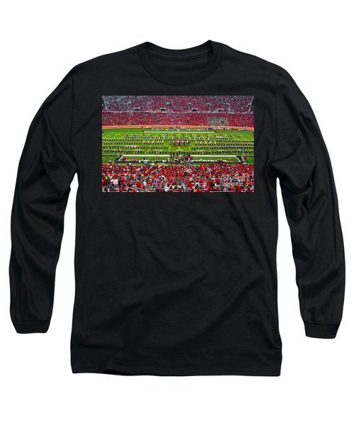 Long Sleeve T-Shirt featuring the photograph The Going Band From Raiderland by Mae Wertz