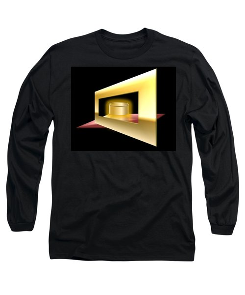 The Golden Can Long Sleeve T-Shirt by Cyril Maza