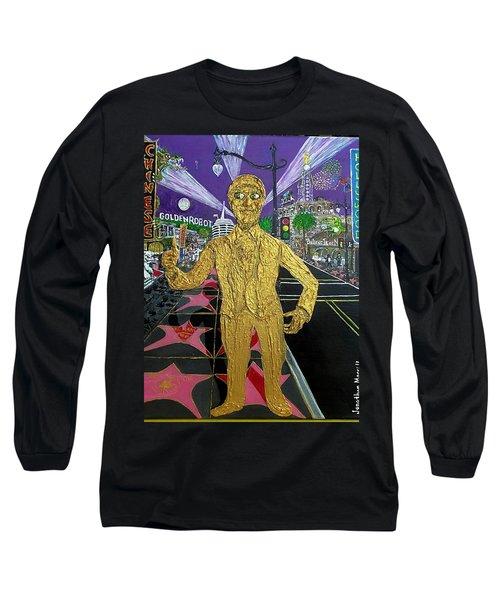 The Golden Robot Long Sleeve T-Shirt