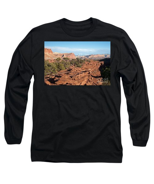 The Goosenecks Capitol Reef National Park Long Sleeve T-Shirt
