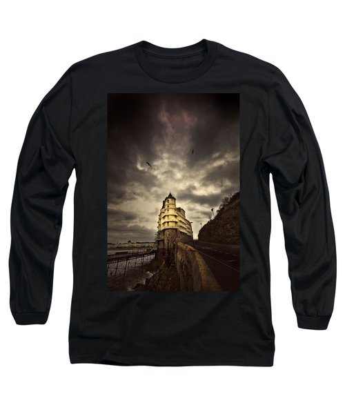 Long Sleeve T-Shirt featuring the photograph The Grand by Meirion Matthias
