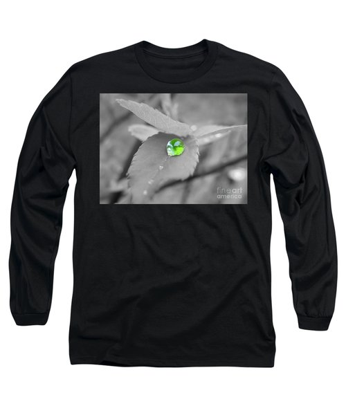 The Green Pearl Long Sleeve T-Shirt by Patti Whitten