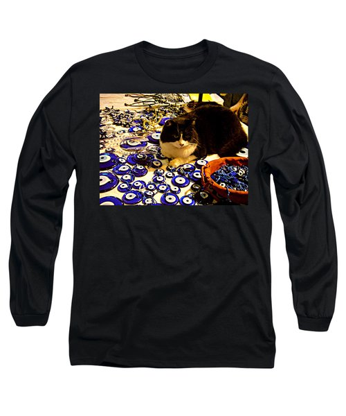 The Guard Of Evil Eye Beads Long Sleeve T-Shirt