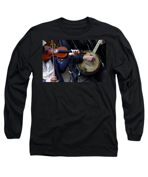 The Hands Of Jazz Long Sleeve T-Shirt
