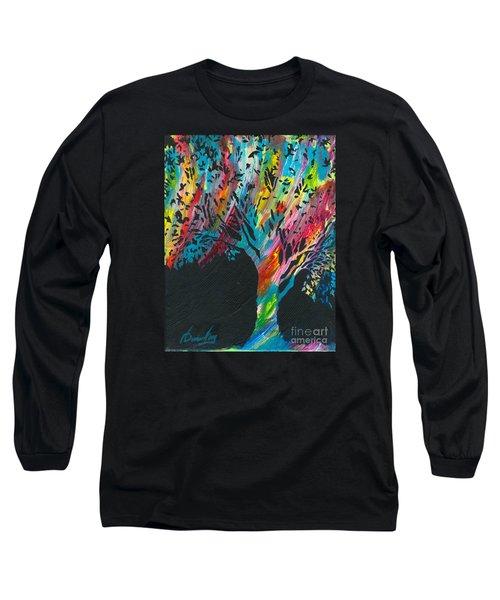 The Happy Tree Long Sleeve T-Shirt