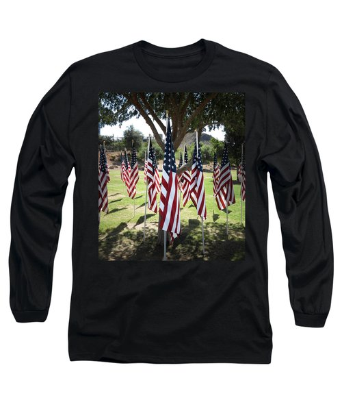 The Healing Field Long Sleeve T-Shirt by Laurel Powell