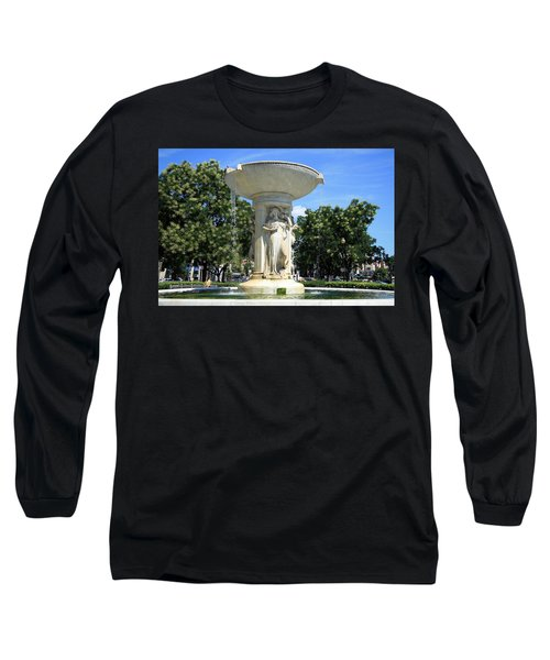 The Heart Of Dupont Circle Long Sleeve T-Shirt by Cora Wandel