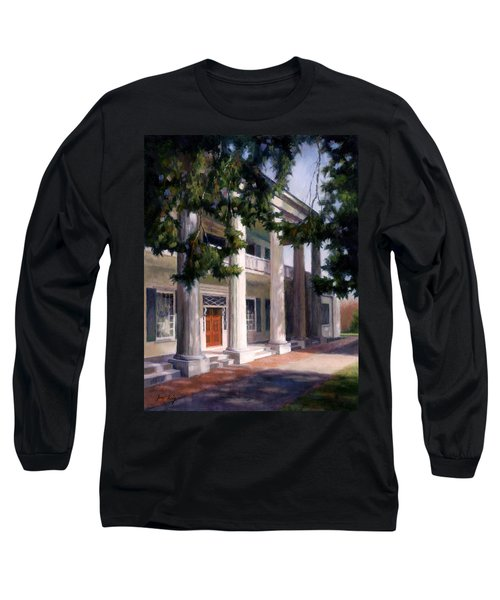 Long Sleeve T-Shirt featuring the painting The Hermitage by Janet King