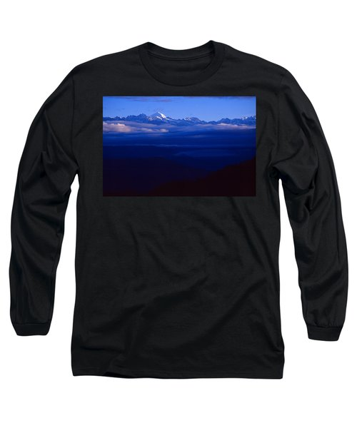 The Himalayas Long Sleeve T-Shirt