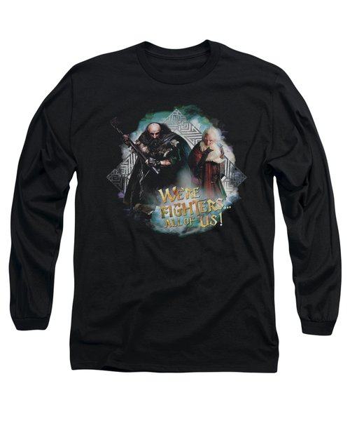 The Hobbit - We're Fighers Long Sleeve T-Shirt
