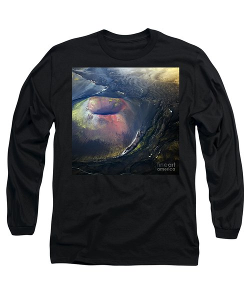 Long Sleeve T-Shirt featuring the photograph The Hole by Gunnar Orn Arnason
