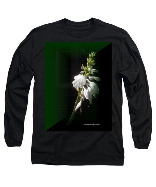 The Hosta Flowers Long Sleeve T-Shirt