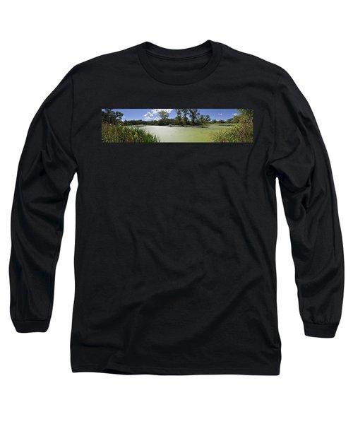 The Indiana Wetlands Long Sleeve T-Shirt by Verana Stark